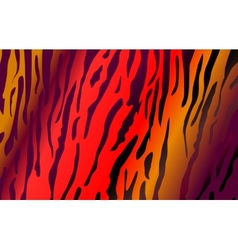 Imitation of tiger leather as a background vector image
