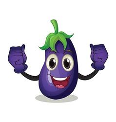 Eggplant vector image vector image