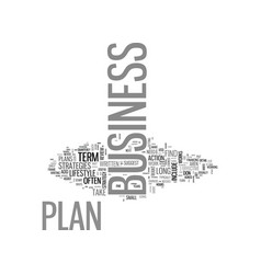 Why business plans don t work and what to do vector