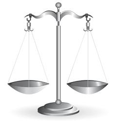 Metal balance vector