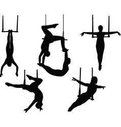 trapeze vector image