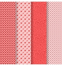 Seamless patterns pack vector