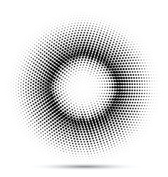 halftone dot background 1907 vector image
