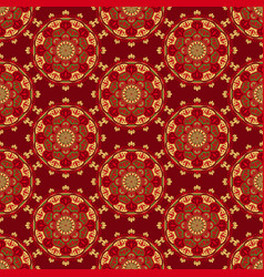 Seamless man42 red vector