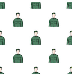 Soldierprofessions single icon in cartoon style vector