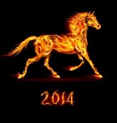 Fair Horse Run 2014 01 vector image vector image