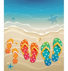 family holiday vector image vector image