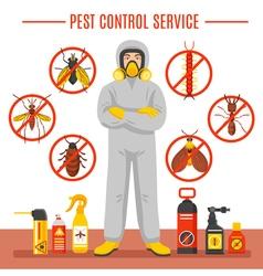 Pest control service vector