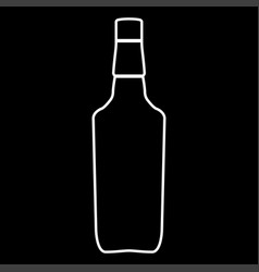 whisky it is icon vector image