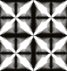 Black and white abstract vintage seamless vector