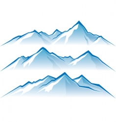 Mountains vector