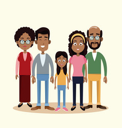 family togetherness happy image vector image vector image