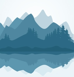 forest vector image