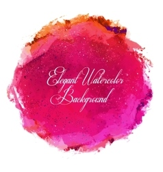 Abstract watercolor spot background vector