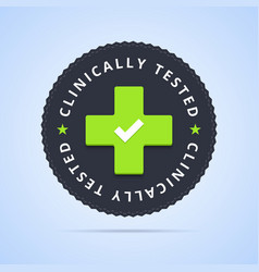 Clinically tested stamp vector