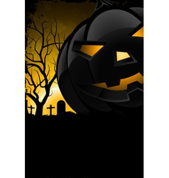 Grunge Background for Halloween Party vector image vector image