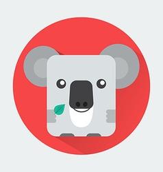 Koala Baby Animal Icon vector image vector image