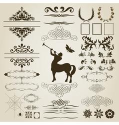 ornament5 vector image