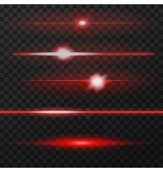 Lens flares pack vector