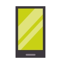 Tablet computer smartphone screen vector image