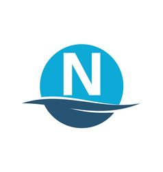 Wave water initial n vector