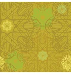 seamless flourish vector image