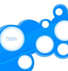 Abstract web design bubble vector