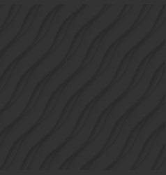 Black texture abstract pattern seamless wave vector