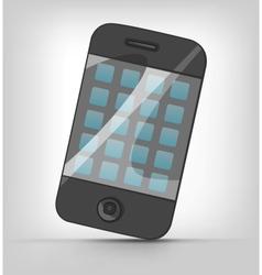 Cartoons mobile phone vector