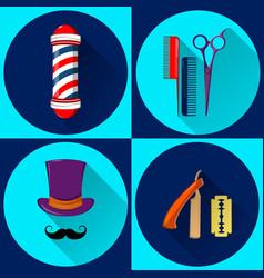 barber shop 01 vector image