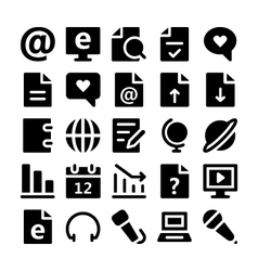 Communication icons 3 vector