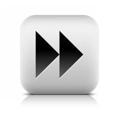 Media player icon with next forward sign vector image