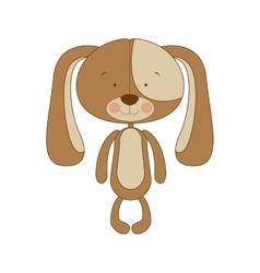 Puppy cartoon icon image vector