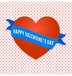14 february poster vector image vector image