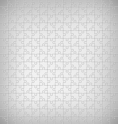 Jigsaw puzzle pattern on grayscale vector