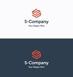 S Company logo 03 vector image