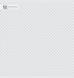 abstract geometric triangle white and gray vector image vector image