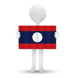 Lao peoples democratic republic vector