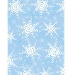 Snowflake background and texture vector