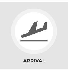 Departure flat icon vector