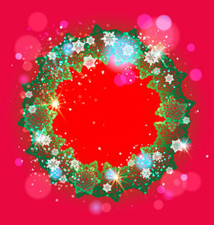 season bright frame vector image vector image