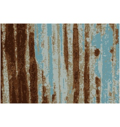 Background rusty galvanized iron plate vector