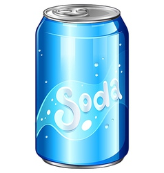 A can of soda vector