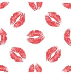 Lips print seamless vector
