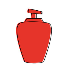 Soap dispenser bottle vector