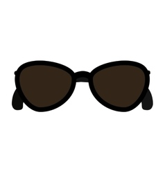 sunglasses fashion isolated icon design vector image vector image