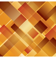 Abstract background intersected rectangles autumn vector