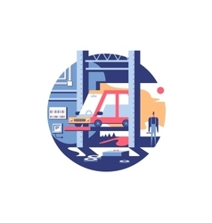 Service auto repair icon vector