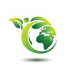 Green earth 2 vector