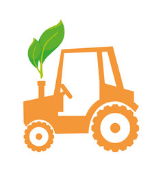 Tractor job agricultural vector